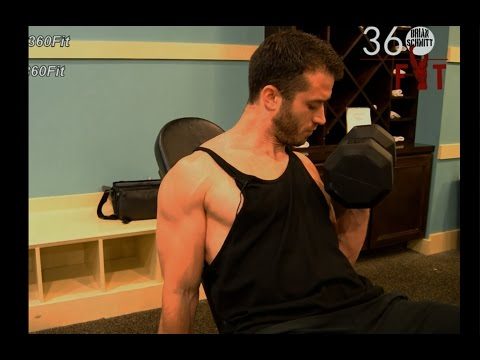 How to perform the Seated Incline Dumbbell Curl