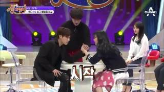 Wendy and Sunggyu cut (Red Velvet @ Channel A