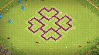 Belediye binası 6 köy düzeni  / Clash of clans