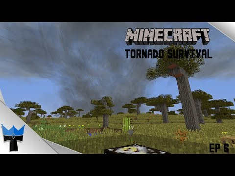 Minecraft Tornado Survival S7Ep6: Wedge