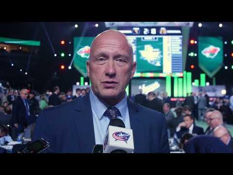 2018 NHL Draft - Jarmo Kekalainen 6/23/18