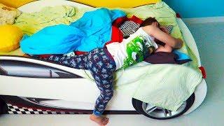 Asa se trezeste Alex dimineata