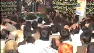 Zakir Saqlain Abbas Ghallu at Mage sultan jang 10 muhram Azan Ali Akber a.s 2012