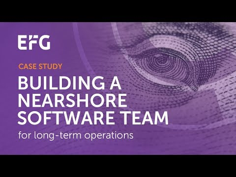 EFG International Developed the new Banking System with Ciklum team
