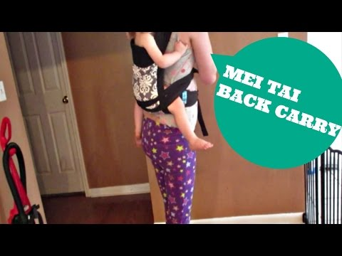 Mei Tai Back Carry | VEDA 20 | moms little miracle