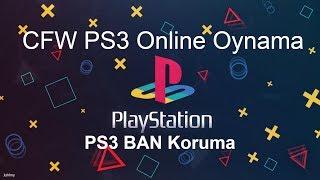 CFW Kırık PS3'te Online Oyun Oynama PSN Ban Koruma MultiMAN CEX DEX CFW de BAN Yemeden Oynama