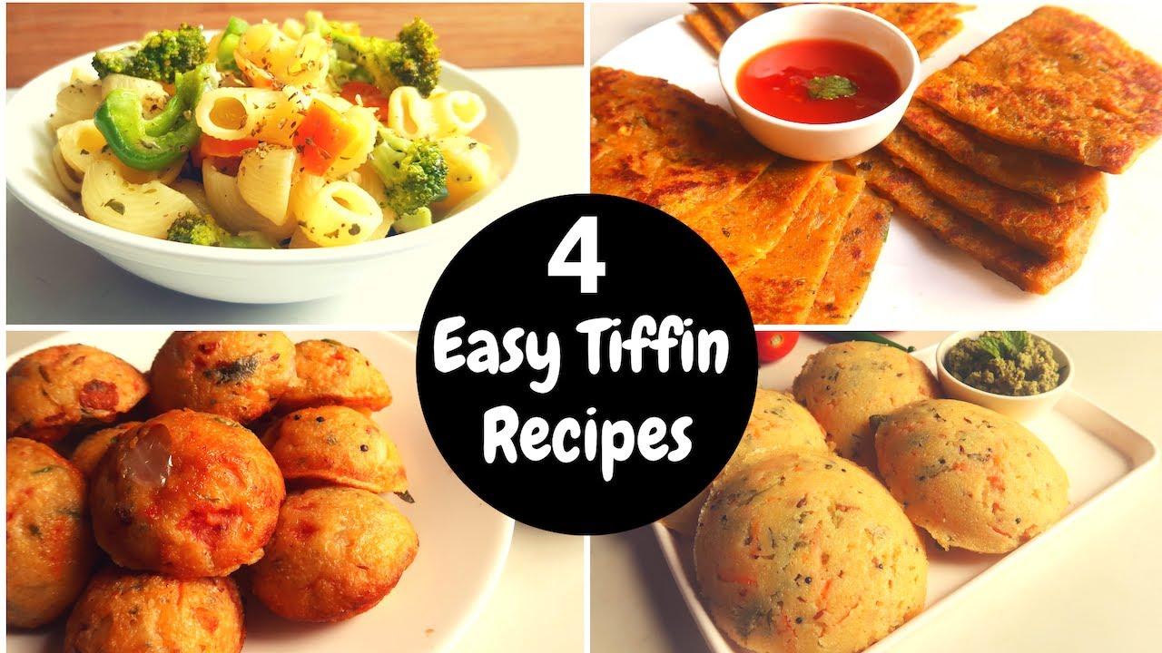 രാവിലെ സമയക്കുറവ് കൊണ്ട് ബുദ്ധിമുട്ടാറുണ്ടോ നിങ്ങൾ ??? | 4 Tiffin Box Recipes | Salu Kitchen