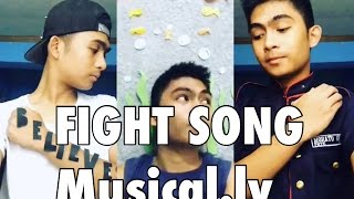 Fight Song Full Song Musical.ly By Jiro Morato