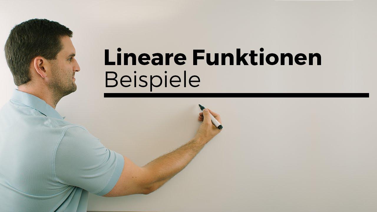 lineare funktionen beispiele gleichung skizze steigung y achsenabschnitt mathe by daniel. Black Bedroom Furniture Sets. Home Design Ideas