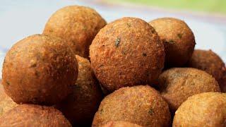 falafel de garbanzos  La receta arabe más deseada por los veganos