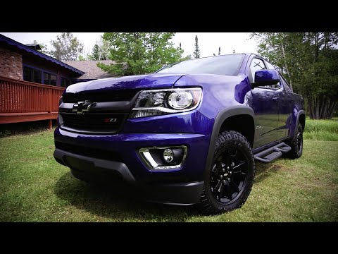 Special Edition Chevy Colorado Z71 Trail Boss First Look Youtube