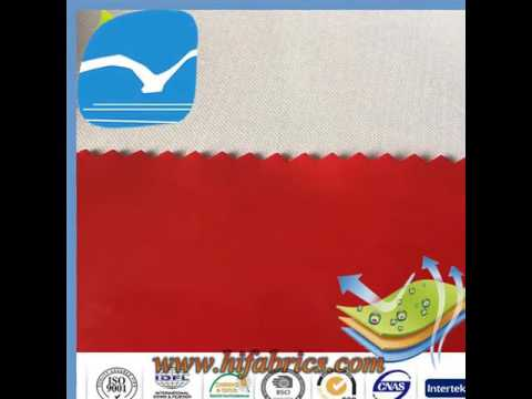 alibaba gold supplier Waterproof breathable fabric In hangzhou