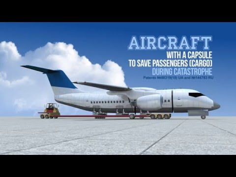 This Plane Can Detach Its Cabin In Case Of Emergency