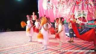 Múa : Đêm Trung Thu - Trường Mầm non xã Tràng An (Trung thu 2015)
