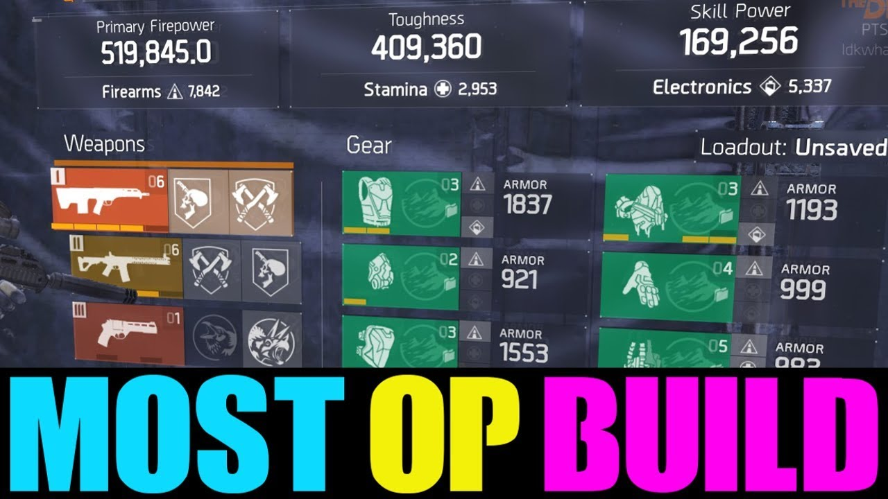 solo build for the division