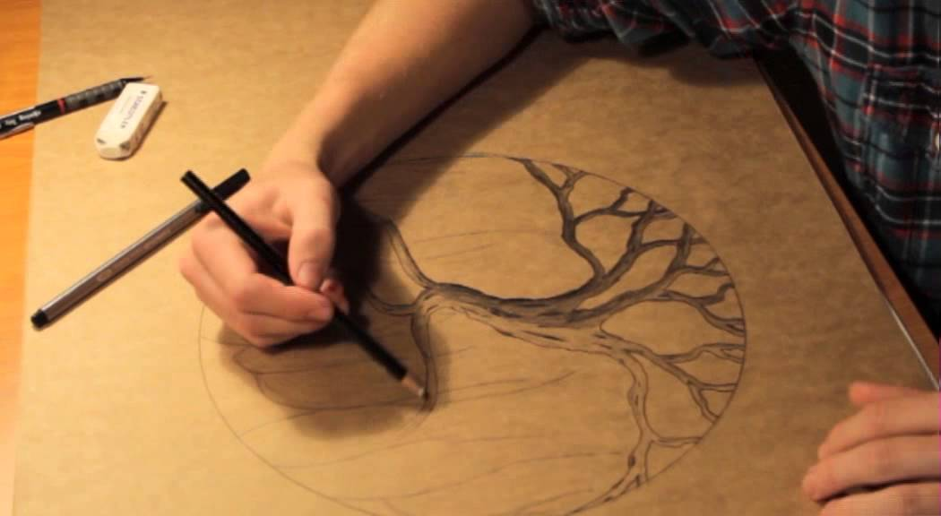 Tree Of Life Drawing Youtube