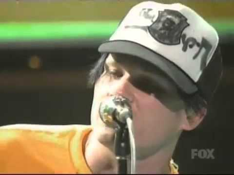 blink-182 Down Live DVD MTV Teen Choice Awards Original 11.08.2004 / 11 August 2004 HQ