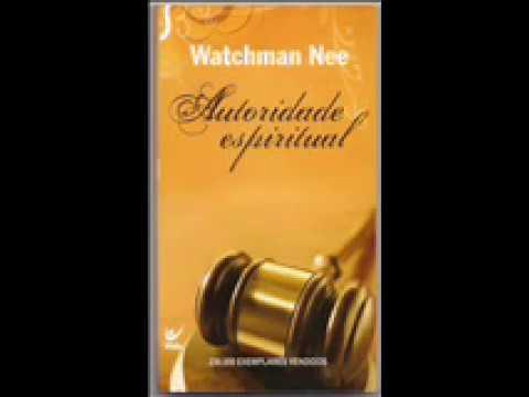 o livro autoridade espiritual de watchman nee