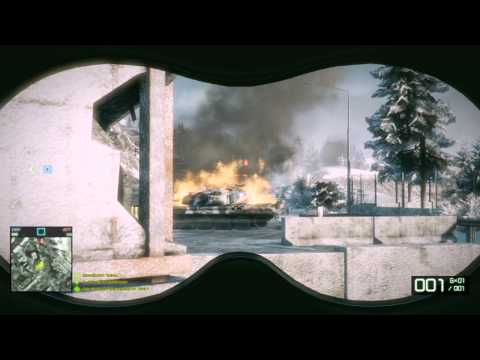 Battlefield Bad Company 2 Multiplayer Exclusive Hacker! Dual