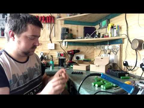 building a 83AH 4 2V lithium battery pack close to 100AH