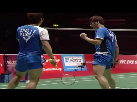 Cai Y/Fu H. v Jung J.S /SH.Lee Y.D |MD-SF| Yonex BWF World Champ. 2011