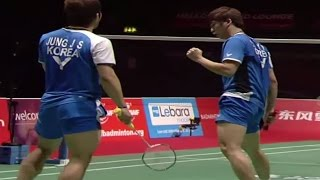 SF (Session 2) - MD - Cai Y./Fu H. vs Jung J.S./Lee Y.D. - Yonex BWF World Champs