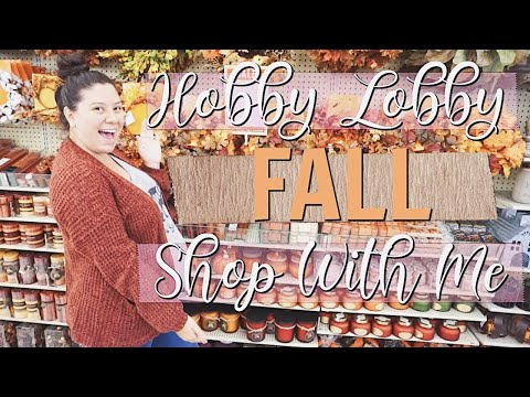 NEW FALL DECOR! HOBBY LOBBY FALL SHOP WITH ME 2019!