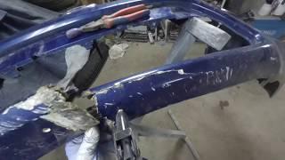 Ремонт бампера Ford CMAX