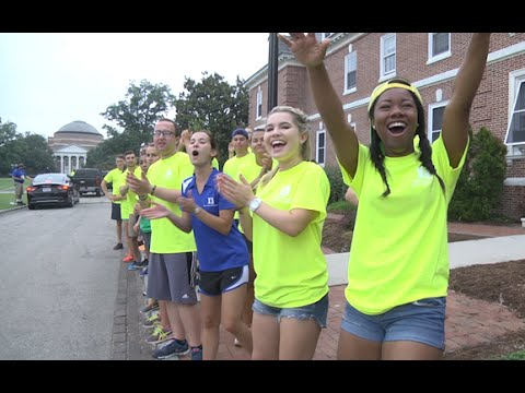 Duke University Freshmen Move In Day 2015