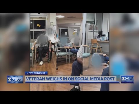 Durham VA says viral photos showing veterans are misleading