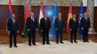 Саммит в резиденции Рахмона – Дворце нации || Лукашенко на саммите ОДКБ || Визит в Таджикистан