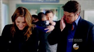 "Castle 8x17 End Scene Beckett Castle Talk - Jenny Gives Birth ""Death Wish"" Season 8 Episode 17"
