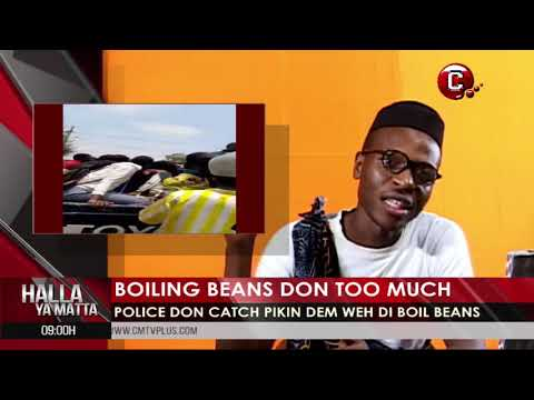 School Pikin dem boil beans suteh neighbors them gather | Police arrest students for boiling beans