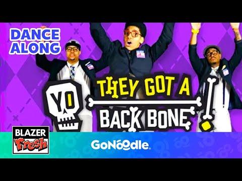 Yo! They got a backbone! - Blazer Fresh | GoNoodle