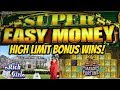 SUPER EASY MONEY & HIGH LIMIT SLOT GAMES