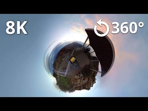 8K Test - Haleakala National Park 360 Video