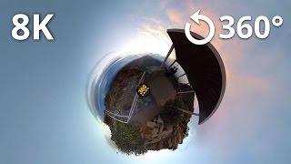 8K Test - Haleakala National Park 360 Video thumbnail