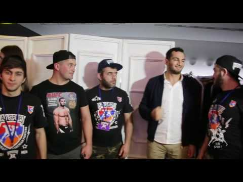 Hay Sport: Gegard Mousasi Visited Moscow