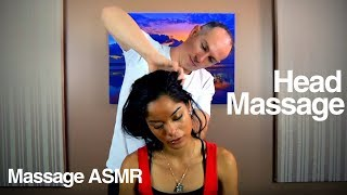 Head Massage for Relaxation & ASMR