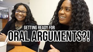 Legally Black Diaries: VLOG | Day In The Life of 2L Law Students ... Preparing for Oral Arguments?!