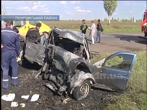 ДТП возле Покровска: есть погибшие