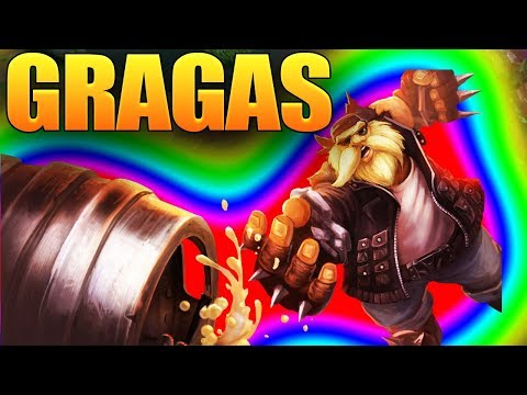 League Of Legends WIld Rift Gragas Gameplay Guide (Lol Pc)