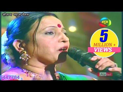 पदम् श्री #शारदा सिन्हा जी || पग पग लिए जाऊ तोहरी बलैया || अभिनन्दन एफ फिल्म्स