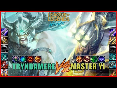 Full Build Fights Tryndamere Vs. Master Yi   League Of Legends: Wild Rift