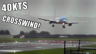 Baixar TUI Boeing 757 Comes into Land SIDEWAYS in 40 KNOT CROSSWIND at Bristol Airport During a STORM