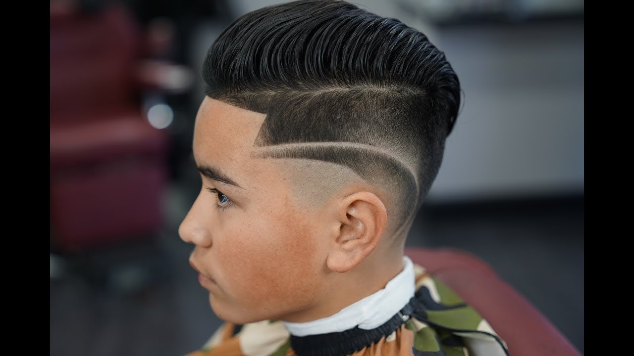 kids haircut design