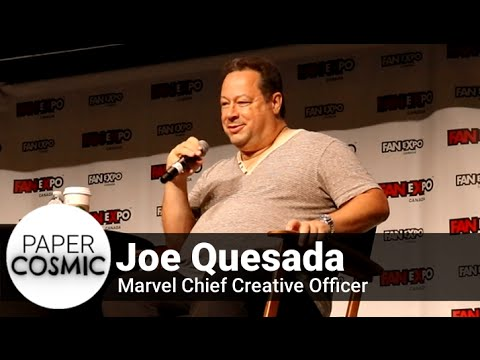 Marvel Chief Creative Officer, Joe Quesada Q&A - Fan Expo 2016