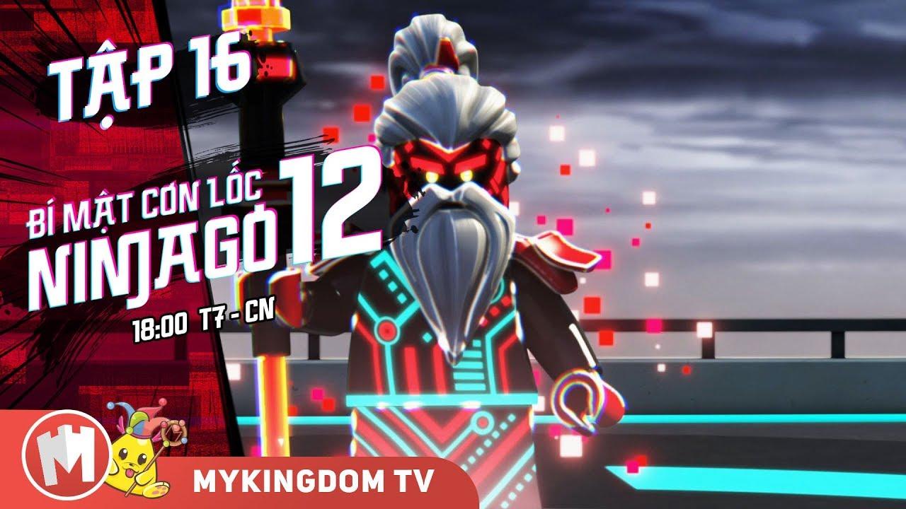 BÍ MẬT CƠN LỐC NINJAGO – Phần 12 | Tập 16: Game Over – Phim Ninjago Tiếng Việt