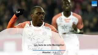 Video Gol Pertandingan Lille Metropole vs Montpellier