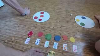 Чудо-коврик. Игра для детей с 2-х лет своими руками за 20 минут